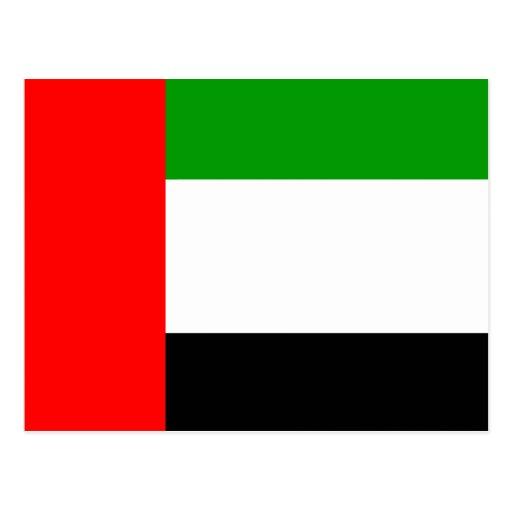 Arab Emirates High quality Flag Post Cards