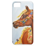 Arab in flowers iPhone 5 covers