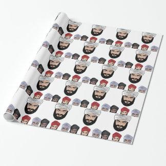 Arab Muslim vector Wrapping Paper