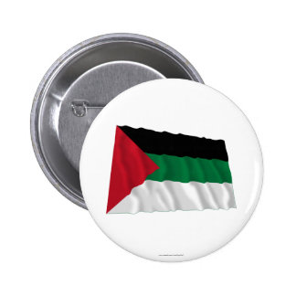 Arab Revolt Waving Flag Button