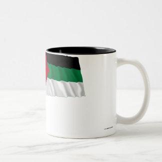 Arab Revolt Waving Flag Mug