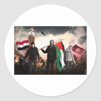 ARAB REVOLUTION 2011 STICKERS
