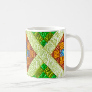 arab stained glass window mosaic morocco coffee mug