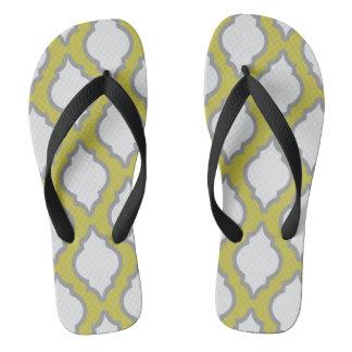 Arab Style Pattern Flip Flops