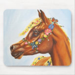 arab with flowers mouse pad