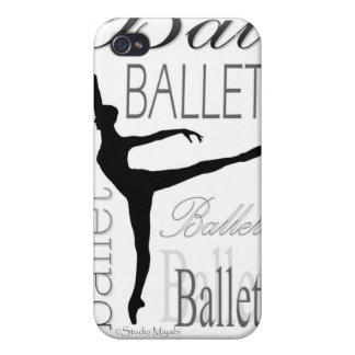 Arabesque Ballet iPhone4 Case iPhone 4 Cover