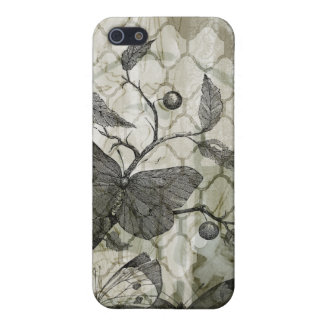 Arabesque Butterflies I iPhone 5/5S Cover