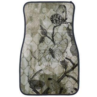 Arabesque Butterflies II Car Mat