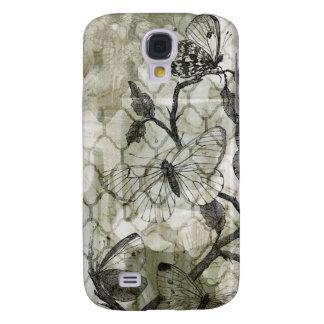 Arabesque Butterflies II Galaxy S4 Case