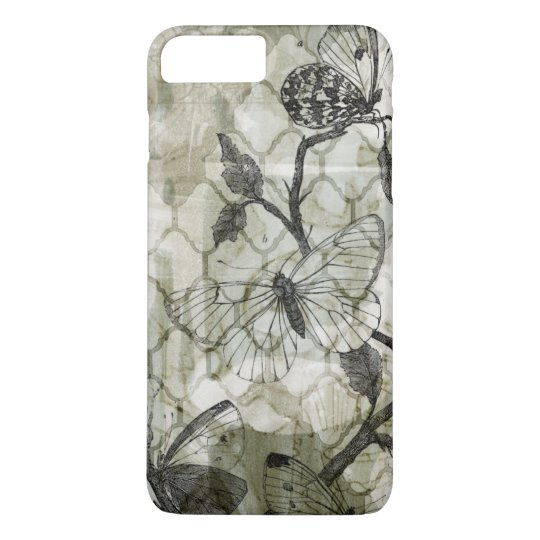 Arabesque Butterflies II iPhone 8 Plus/7 Plus Case