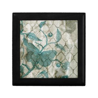 Arabesque Butterflies V Small Square Gift Box