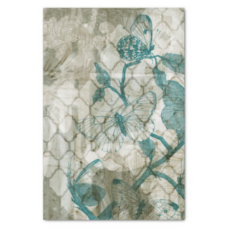 Arabesque Butterflies VI Tissue Paper
