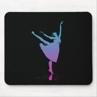 Arabesque Dancer Dances Mouse Pad