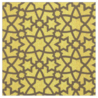 Arabesque grande gold and black fabric
