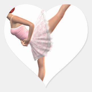 Arabesque Heart Sticker
