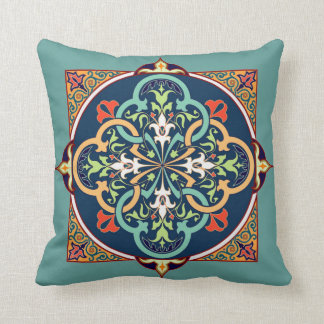Arabesque Islam Persian Art Decorative Pillow