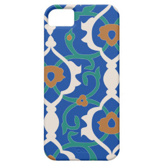 Arabesque Mosaic Blue Case-Mate iPhone 5 Barely iPhone 5 Covers