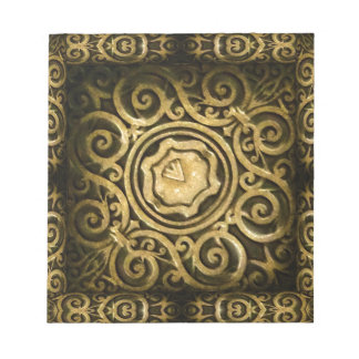 Arabesque Ornament Notepad