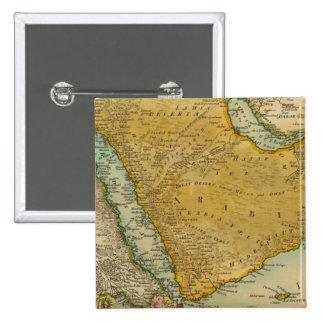 Arabia 4 15 cm square badge