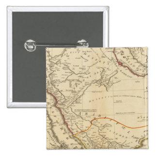 Arabia 5 15 cm square badge