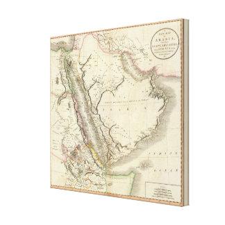 Arabia, Egypt, Abyssinia, Red Sea Canvas Print