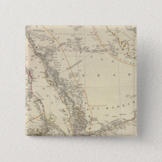 Arabia, Egypt, Nubia, Abyssinia 15 Cm Square Badge
