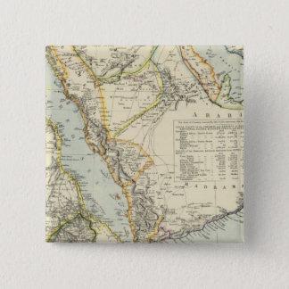 Arabia, Egypt, Nubia, Abyssinia 2 15 Cm Square Badge