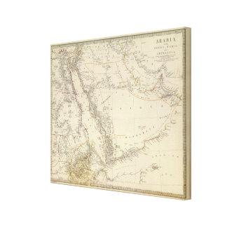 Arabia, Egypt, Nubia, Abyssinia 2 Canvas Print