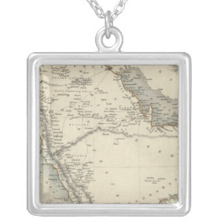 Arabia Silver Plated Necklace