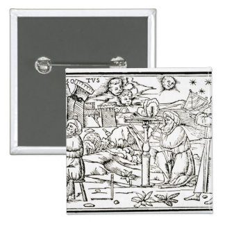 Arabian Astrologers, copy of an illustration from 15 Cm Square Badge