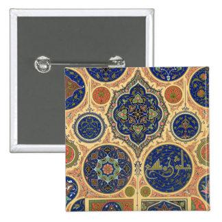 Arabian Decoration, plate XXVII from 'Polychrome O 15 Cm Square Badge