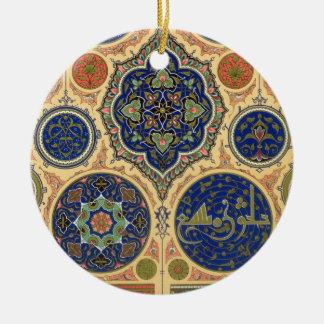 Arabian Decoration, plate XXVII from 'Polychrome O Christmas Ornament