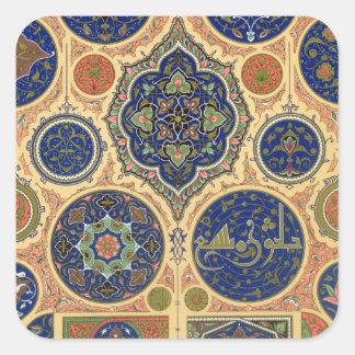 Arabian Decoration, plate XXVII from 'Polychrome O Stickers