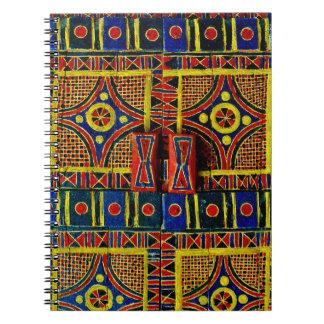 Arabian Door Design Spiral Notebook
