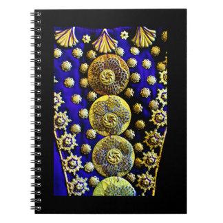 Arabian Dress Decorations Notebooks