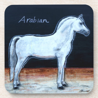 Arabian Horse Coasters, Gifts for Pet Lovers Coaster