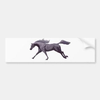 Arabian Horse Galloping Bumper Sticker