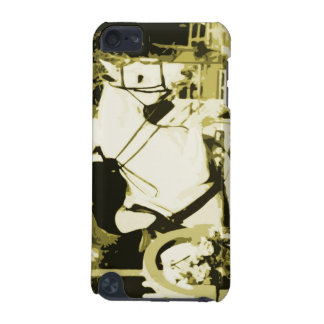 arabian horse jumping sepia posterized iPod touch (5th generation) case