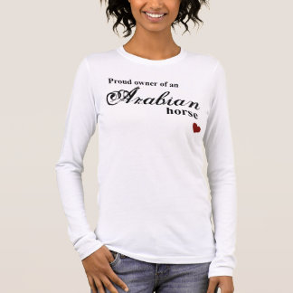 Arabian horse long sleeve T-Shirt