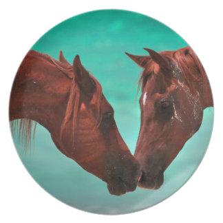 Arabian Horse Love Plate