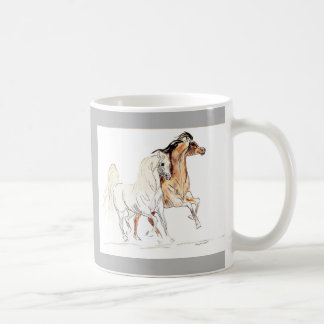 Arabian Horse Mug - horse lover gift