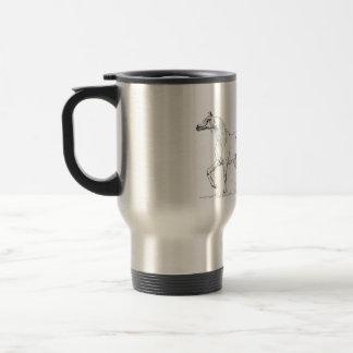 """Arabian Horse Mug -  """"Two Friends Tu"""""""