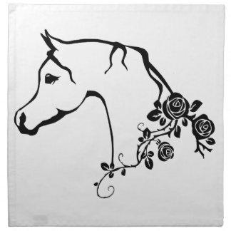 Arabian horse napkin