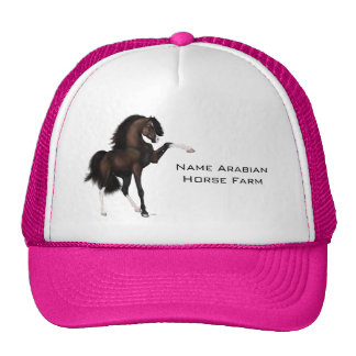 Arabian Horse Passion Brown Cap