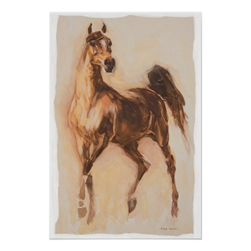 arabian horse print