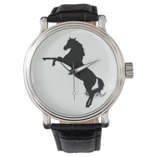 Arabian Horse Silhouette Watch