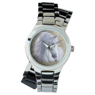Arabian Horse Stainless Steel Women's, pick style Watch