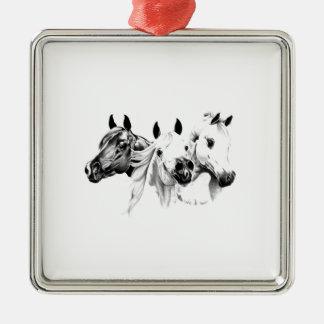 Arabian Horses Christmas Ornament