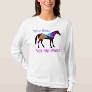 Arabian Horses Rock My World Hoody
