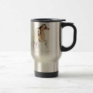 Arabian Horses Travel Mug